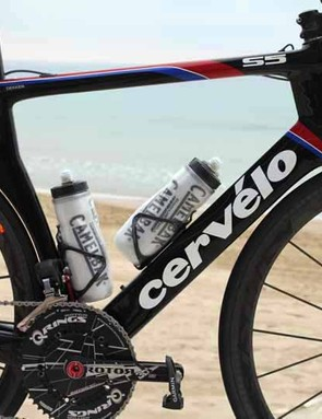 The Cervelo S5 has an unusual profile because the company's goal was aerodynamic efficiency above all else