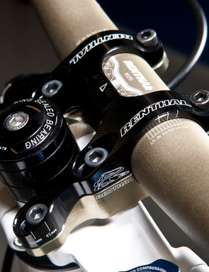 Renthal's new Integra stem provides solid steering up front