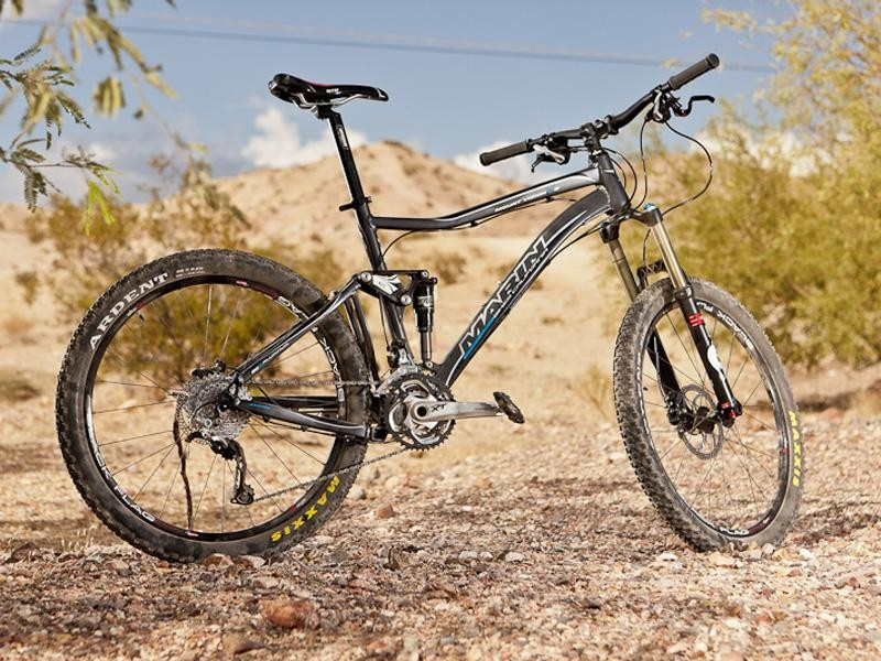 Marin's 2012 Mount Vision XM8 uses a new Quad Link 3.0 suspension design