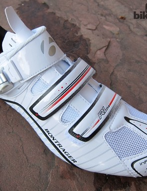 It's not uncommon for cycling shoes to be tight through the midsection before flaring out around the toes but the shape is exaggerated on the Bontrager inForm Pro last