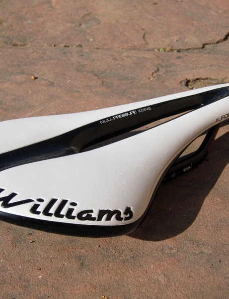 The Aurora SLC is the lightest model in Williams Cycling's new saddle range