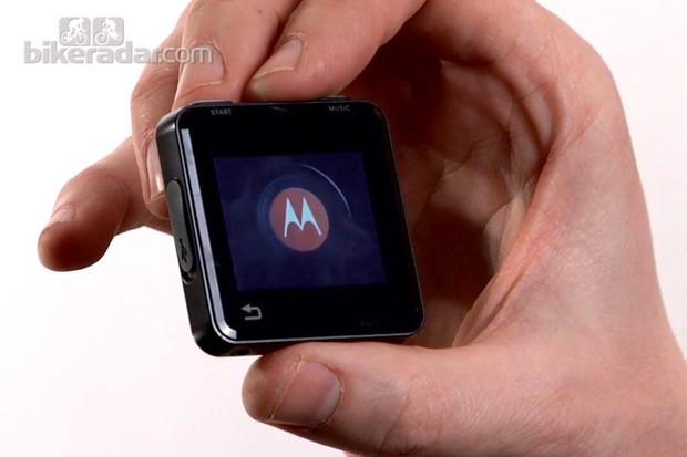 The Motorola MotoActv