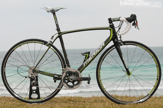 Merida's aim with the Scultura was to create a light, stiff but still comfortable frame