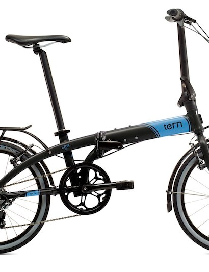 The 20in wheeled Link D8 model provides riders with 8-speeds and is described as Tern's jack-of-all-trades model