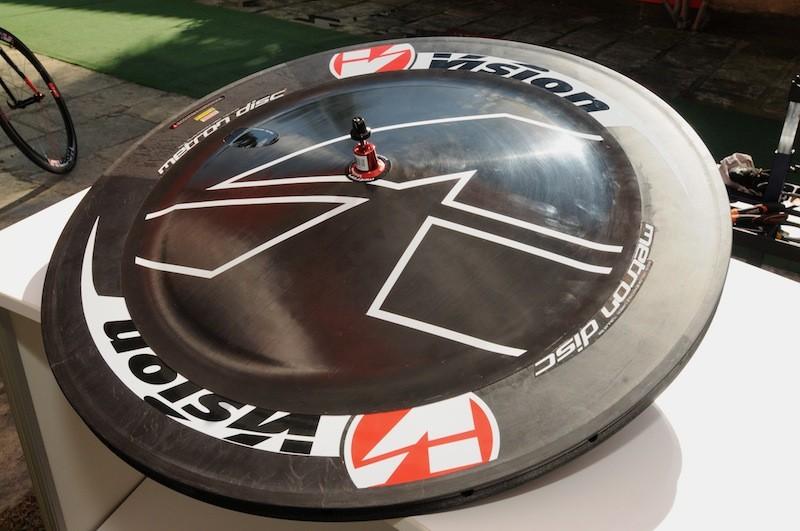 Vision Metron asymmetrical faired disc wheel