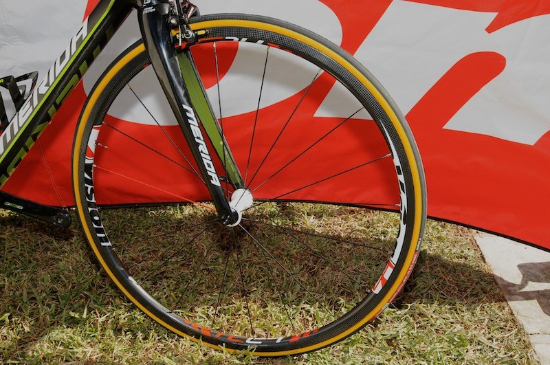 Vision's Trimax Carbon TC24 wheels are incredibly light at 1,250g