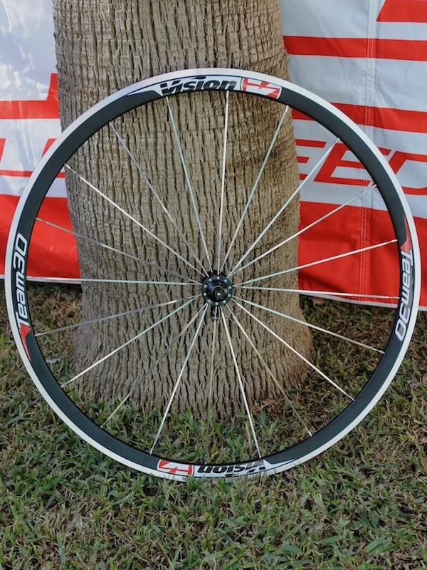 The new Team30 aero shaped alloy wheel