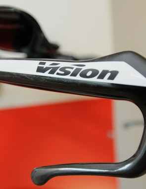 The Vision TFA's integrated brake lever