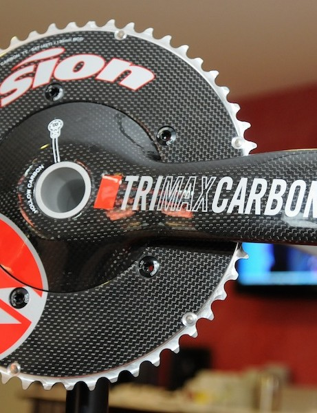 Vision Trimax Carbon TT BB30 chainset
