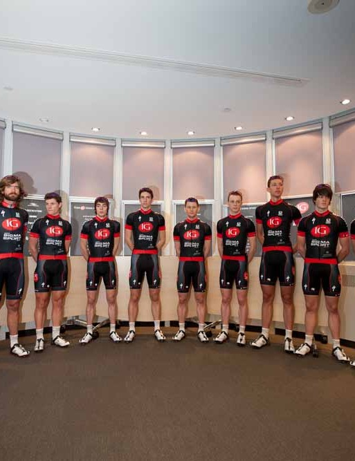 Team IG – Sigma Sport during the team presentation at the IG headquarters in London