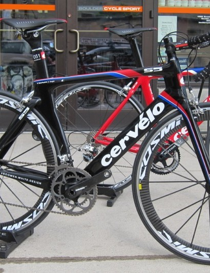 Cervelo launched the new S5, as their flagship aero road bike last summer