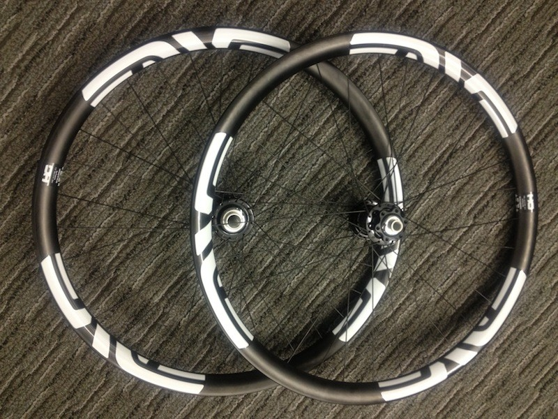 Enve's new DH wheelset; US$2,750 as pictured