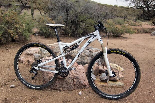 New for 2012 is the Kona Satori 29er trail bike