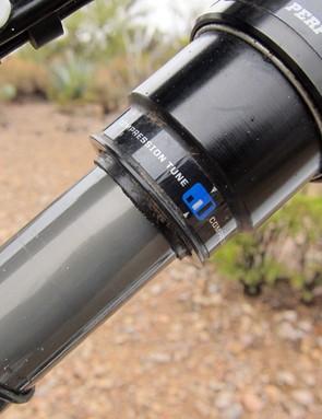 A medium compression tune decreases pedal movement on the new Kona Satori