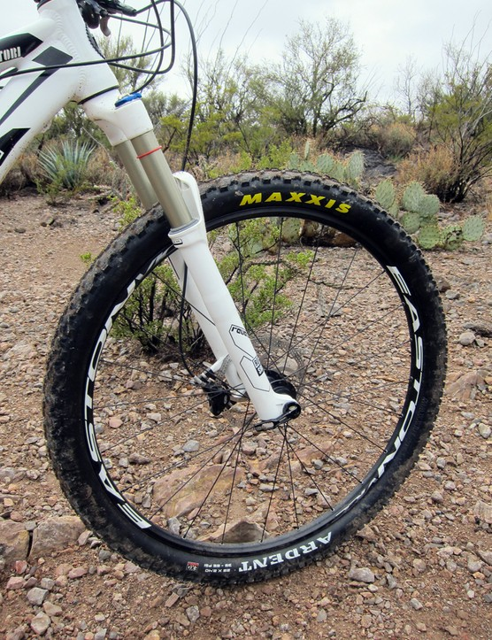 Buyers of the new Kona Satori will have to use an aftermarket kit if they want to run the stock Easton Vice wheels tubeless