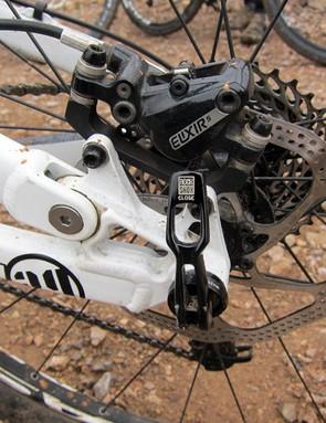 Kona stick with IS-style brake tabs on the new Satori