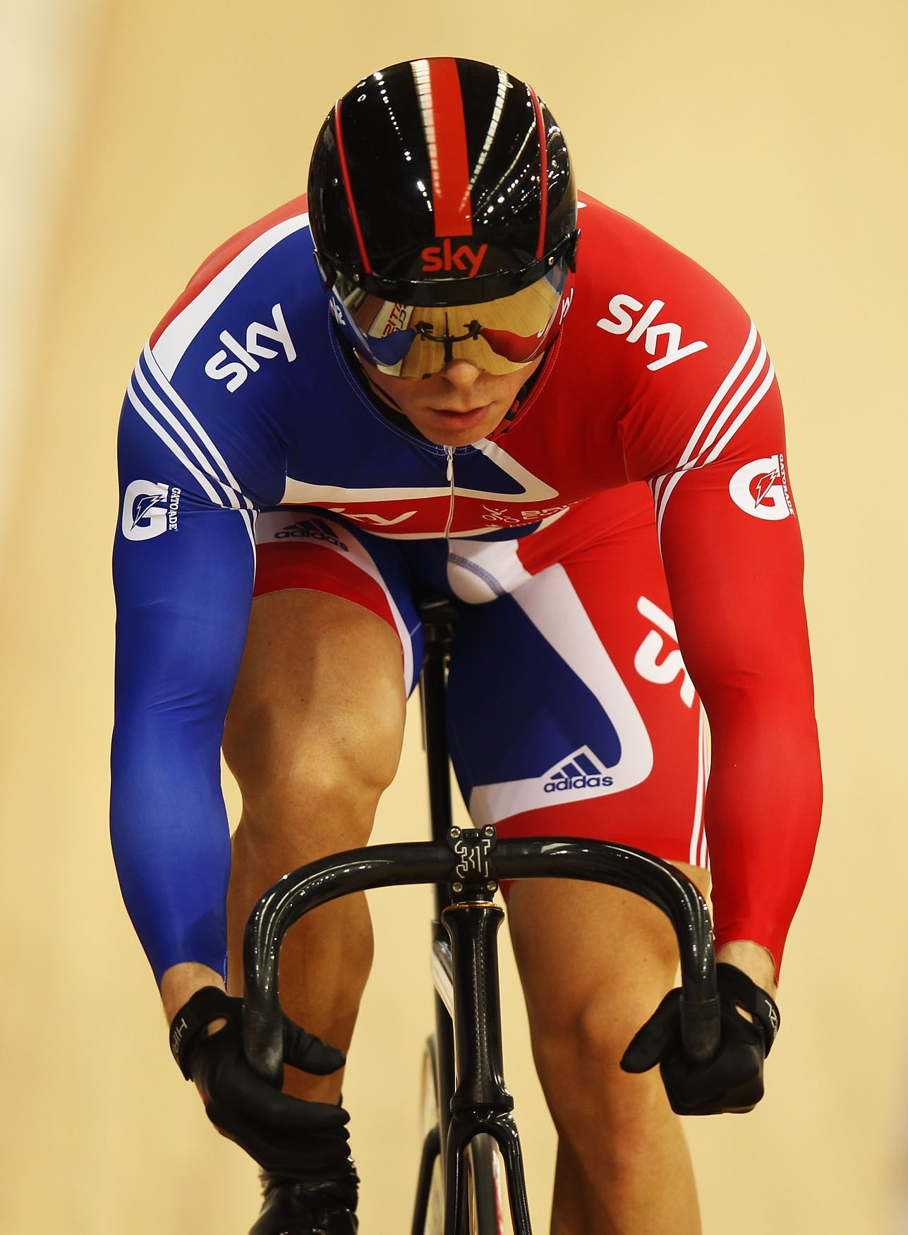 Sir Chris Hoy was dominant in the men's sprint events, winning two gold medals and a bronze