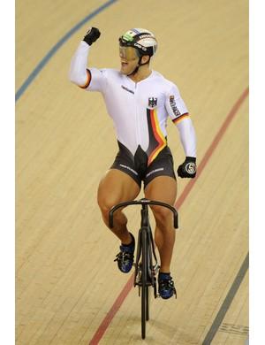 German sprinter Robert Foerstermann has to be a contender for biggest legs