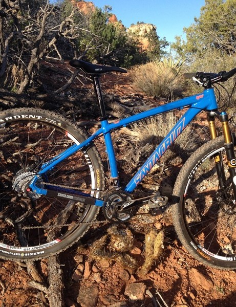 Santa Cruz now offer an alloy version of last year's carbon 29er hardtail