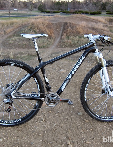 Trek's flagship Superfly Pro carbon 29er hardtail gets upgrades to both the frame construction and spec for 2012