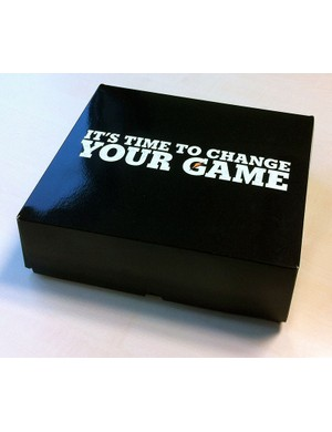 Gatorade's presentation box - not for the general consumer but it looks pretty cool