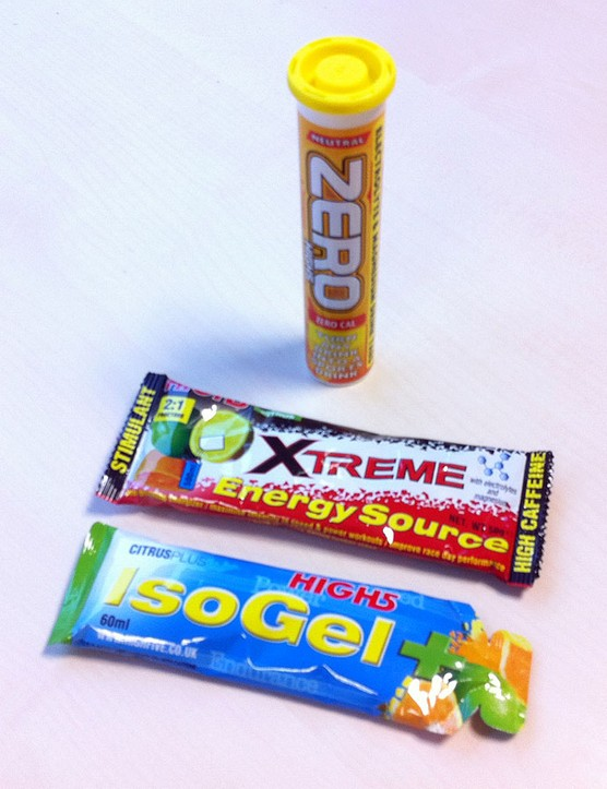 High5 Zero, Extreme Energy Source and IsoGel+