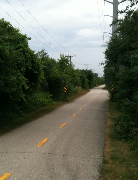 The Skokie Valley trail system has a 6.8-mile gap due to the loss of a federal transportation grant