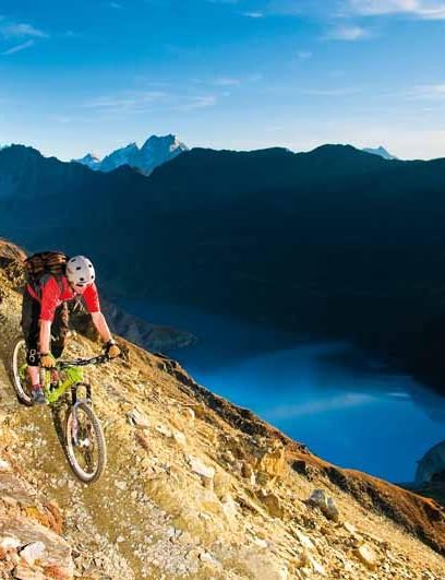 Switzerland, Val d'Anniviers, Zinal.
