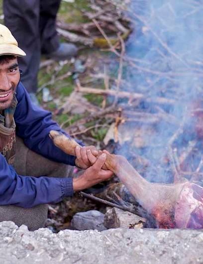 Cooking in the Uttarakhand region