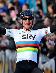 Mark Cavendish (Sky) wins Kuurne-Brussels-Kuurne