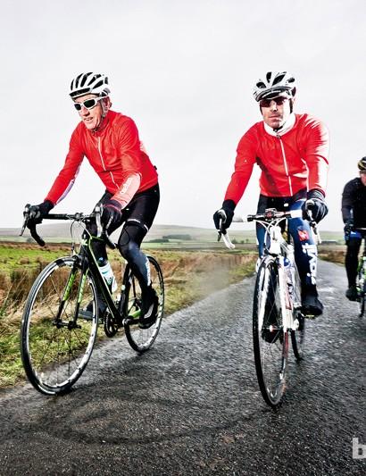 Riding the new Vitus road bikes around the Glens of Antrim with Sean Kelly