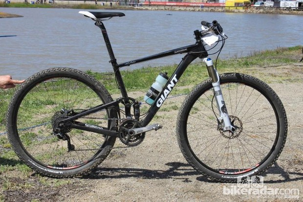 Giant's first Anthem X 29'er prototype, in Aluxx alloy circa 2010