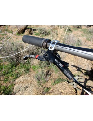 Rusch uses Avid's lightest XX World Cup hydraulic disc brakes