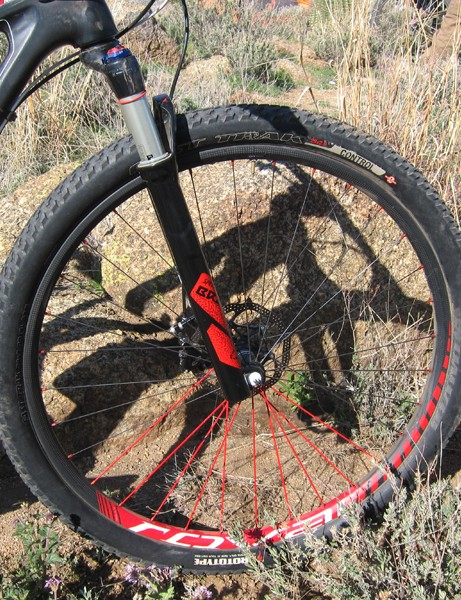 29er critics often point to the segment's heavy wheels but that argument doesn't apply in this case