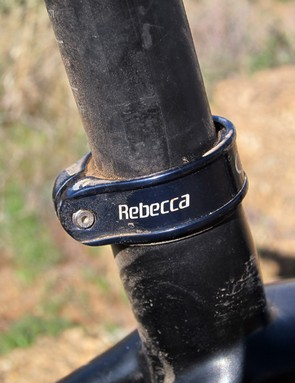 Specialized equip team riders with personalized seatpost collars and skewers from Italian company Carbon-Ti
