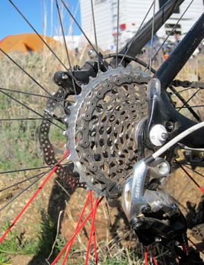 The trick machined steel cassette is undoubtedly one of the gems of SRAM's XX group