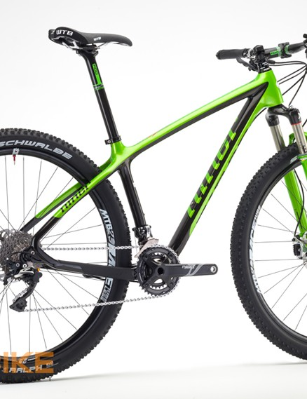 RDO stands for 'race day optimized' and the frame weighs a claimed 1,125g