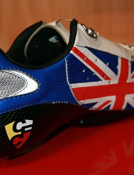 Lake CX401 custom road shoe