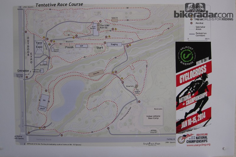 Valmont Park will host the 2014 cyclo-cross national championship