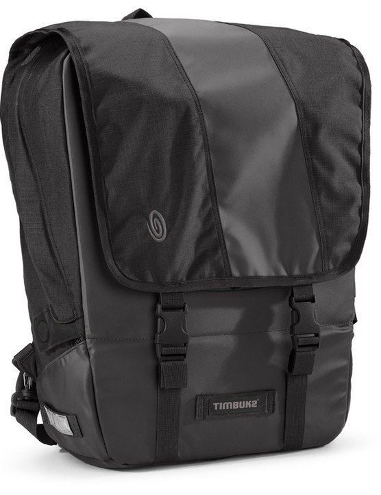 The Timbuk2 Especial Viaje serves double duty as either a backpack or pannier