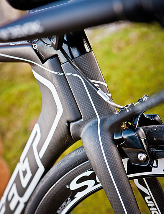 Felt's Bayonet fork system was a pioneering leading edge design with a super-adjustable stem for easy set-up