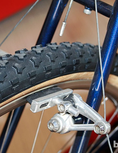 This was Specialized's first mountain bike-specific tread, the Stumpjumper