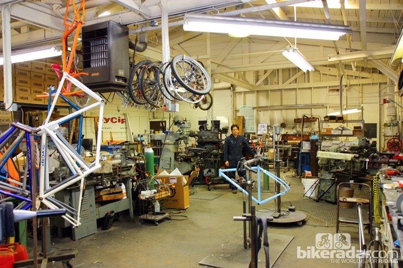 Jeremy Sycip operates a mostly one-man shop in Santa Rosa, California