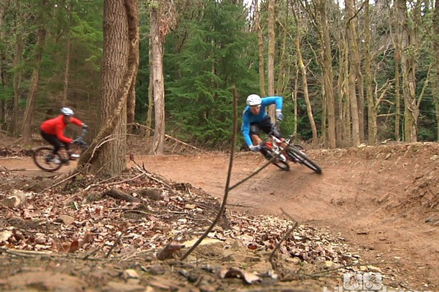 Doddy discusses how a 29er feels more stable over the rough stuff