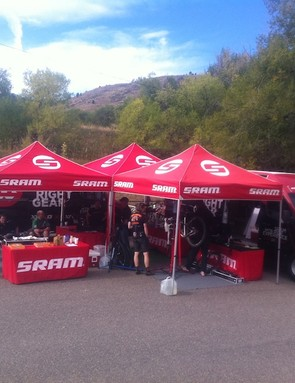 RockShox's Ride Experience demo camp