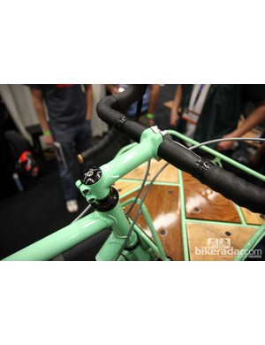 Too much green on this Shamrock Cycles city bike? We don't think so