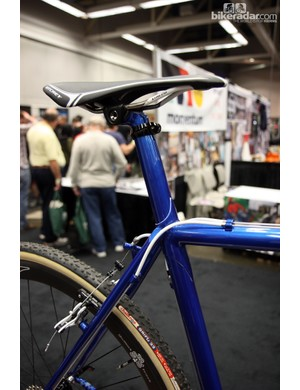 Shamrock Cycles even includes a semi-integrated seatmast on this 'cross racer