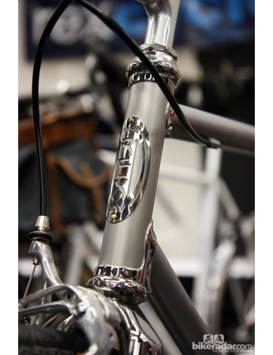 Anniversaries are always a good occasion and bling and Steve Rex celebrates his 25th year of building bikes and frames with this gorgeous stainless steel wonder