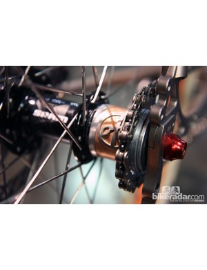 Yipsan Bicycles creator Renald Yip often includes these custom freehub spacers on his custom bikes