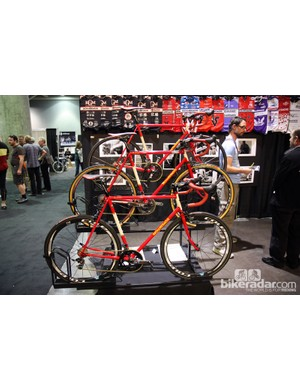 Richard Sachs continues to impress at NAHBS with his timeless steel race bikes